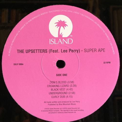 The Upsetters Super Ape