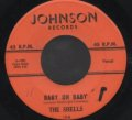 THE SHELLS / BABY OH BABY . WHAT'S IN AN ANGEL'S EYES