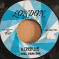 NOEL HARRISON / A YOUNG GIRL . THE FUTURE MRS AWKINS