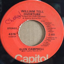 画像2: GLEN CAMPBELL / SOUTHERN NIGHTS . WILLIAM TELL OVERTURE