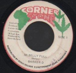 画像1: BARKER D / MI BELLY FULL