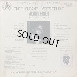 画像2: JOHN HOLT / ONE THOUSAND VOLTS OF HOLT