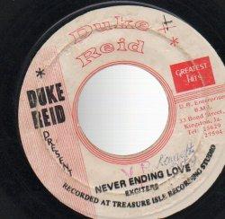 画像1: EXCITERS . NEVER ENDING LOVE / DOBIE GREY SMOKING 007 / GOOD OLD SONG