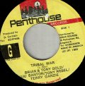 BRIAN & TONY GOLD . BUJU BANTON . TONY REBEL . TERRY GANZIE / TRIBAL WAR
